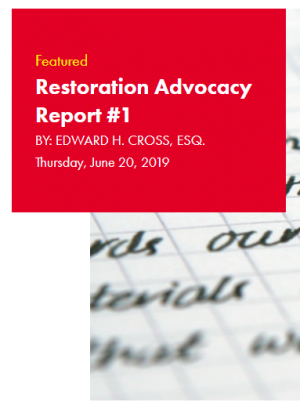 Restoration Industry Advocacy Report