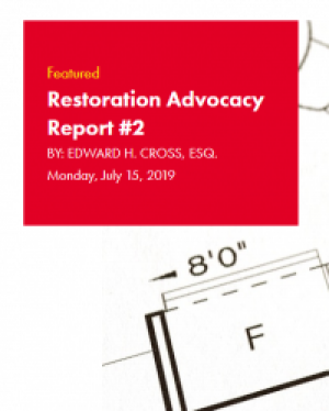 Restoration Industry Advocacy Report 2