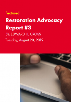 Restoration Industry Advocacy Report 3