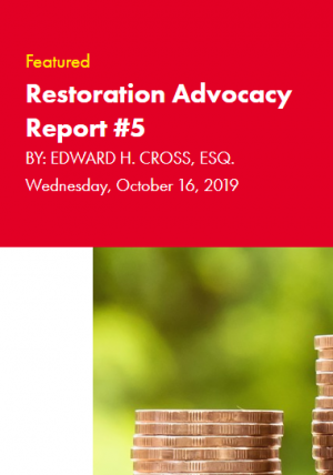 Restoration Industry Advocacy Report 5