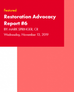 Restoration Industry Advocacy Report 6