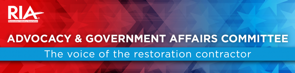 Restoration Industry Association Advocacy and Government Affairs (AGA)