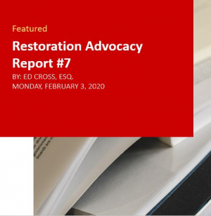 Restoration Industry Advocacy Report 7
