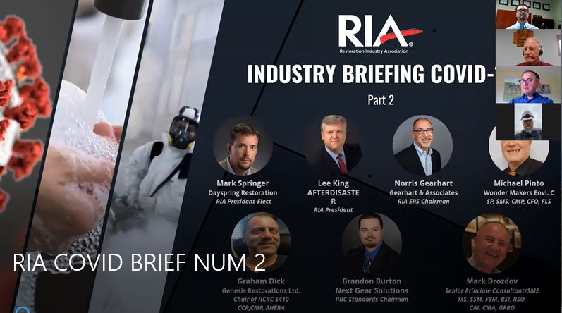 RIA Industry COVID-19 Briefing 2