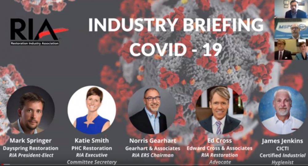 RIA Industry Briefing COVID-19